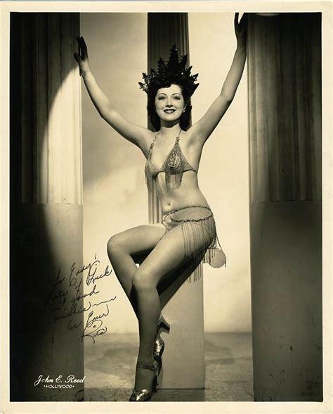 Burlesque Dancer Rita Boss 1940s Burlesque Vintage