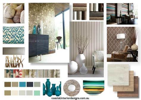 Home Design Board by Coastal Interior Design Concept Mood Board Created Using