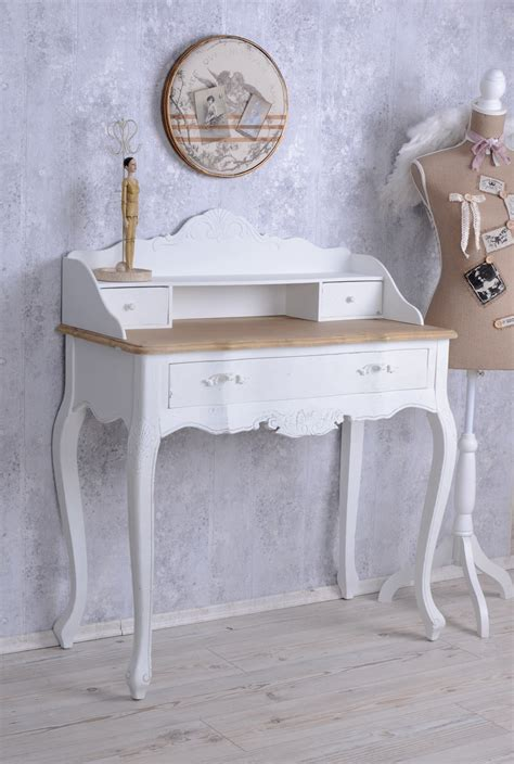 white shabby chic desk sideboard table secretary shabby chic desk wall table