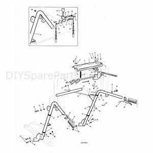 Hayter Condor  511n  Parts Diagram  Controls