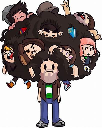 Grumps Avidan Dan Brandon Turner Hair Markiplier