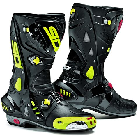 road motorbike boots sidi vortice vented race track sports bike motorcycle