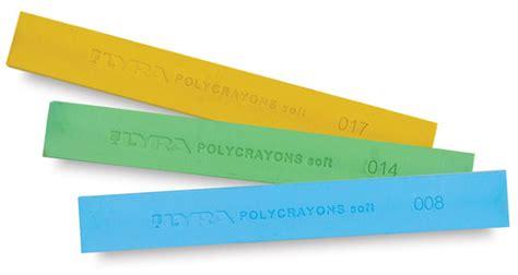 lyra polycrayons soft pastel sets blick materials