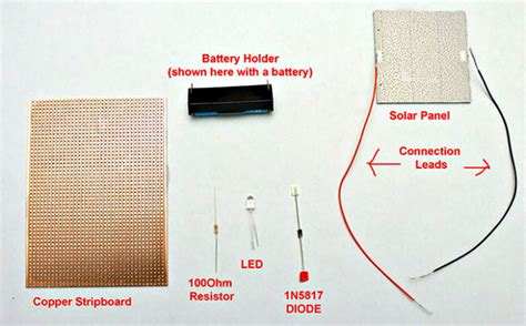 Circuit Diagram Solar Panel Battery Charger
