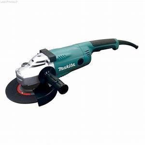 Meuleuse Makita 230 : meuleuse 230 mm 2200 w en coffret et accessoires ~ Edinachiropracticcenter.com Idées de Décoration