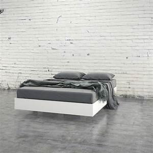 Solar Garden Lights Made In Usa Modern Levitating Floating White Platform Bed In Queen
