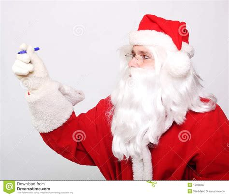 traditional santa claus ringing on traditional santa claus royalty free stock photography image 10988967
