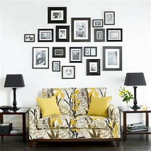 Bilder An Der Wand : wand dekoration mit bildern 29 kunstvolle wandgestaltung ~ Lizthompson.info Haus und Dekorationen