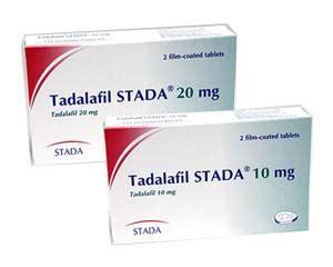 Tadalafil medication