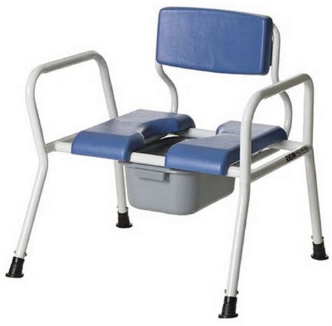 Bariatric Bedside Commode Chair  Free Shipping