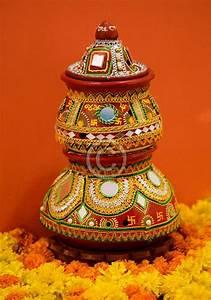 Navratri And Diwali Darba Pot Decoration Ideas Wallpaper