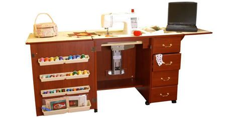 Arrow Sewing Cabinets Marilyn by Arrow Marilyn 98302 Sewing Cabinet Cherry Finish