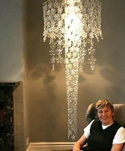 Ausgefallene Lampen Selber Bauen : selber bauen designer lampe lampenschirm plastik flaschen lamp pinterest ~ Markanthonyermac.com Haus und Dekorationen