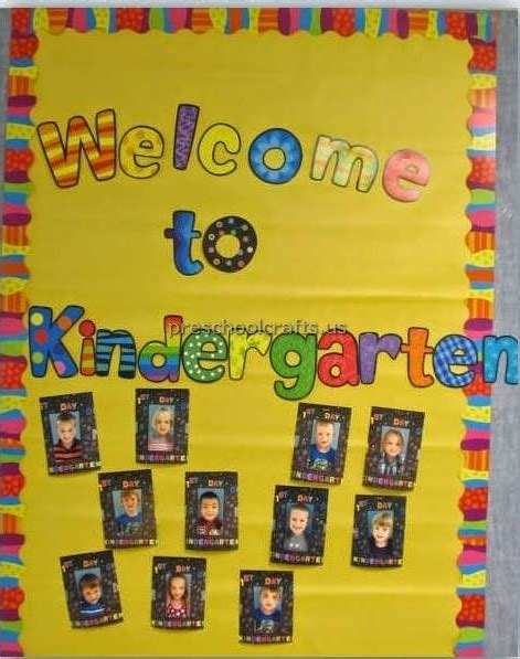 welcome to kindergarten preschool crafts 884 | welcome to kindergarten