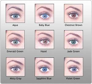 pictures of eye colors | Eye Color Chart | My favorite ...
