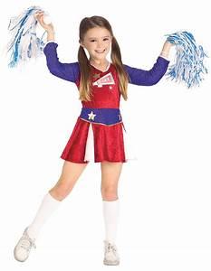 Retro Cheerleader Kids Costume - Mr. Costumes