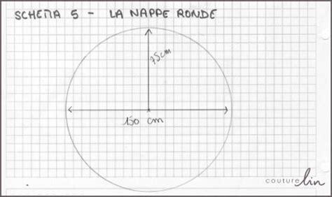 comment faire une nappe ronde une nappe r 233 versible en enduit diy couturelin