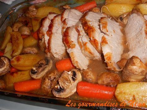 cuisiner roti de porc au four rôti de porc au four et pas sec les gourmandises de némo