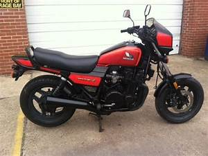 Honda Cb700sc Cb700 Nighthawk S Red And Black