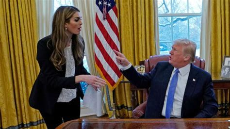 Trump's trusted adviser Hope Hicks resigns as White House ...