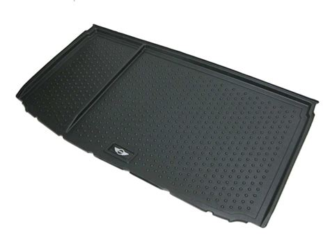 rubber kitchen flooring mini cooper trunk cargo boot mat wings logo oem ge 4927