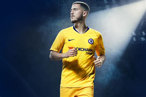 Chelsea Yellow nike and chelsea launch gloriously yellow 2018 19 away kit