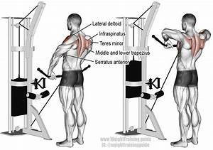 Cable Wide Grip Upright Row Instructions And Video