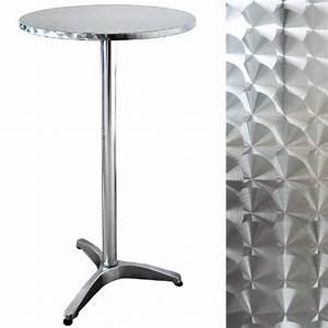 Table De Bar Ronde : mange debout pas cher ~ Teatrodelosmanantiales.com Idées de Décoration