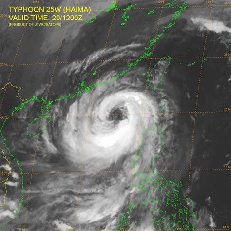 super typhoon haima leaves  trail  destruction  philippines