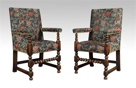 set of twelve jacobean oak dining chairs for sale at 1stdibs