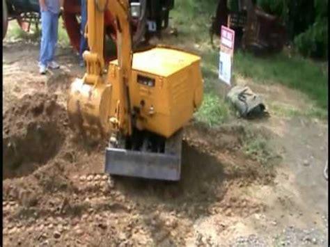 mini excavator youtube