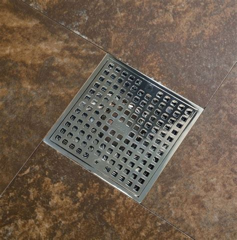 4 inch square shower drain cover 6 inch square shower drain 6 quot various styles with bonus