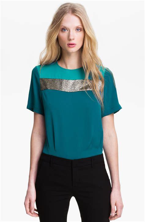 teal blouses teal blouse silk silk pintuck blouse