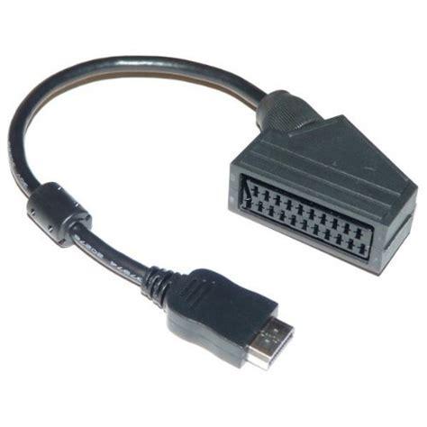 cable peritel hdmi cable hdmi peritel meilleurs c 226 bles dealtastique