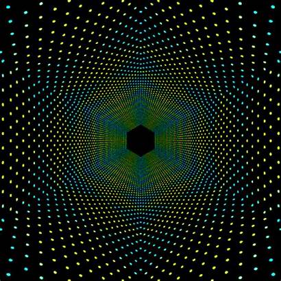 Gifs Geometric Pattern Cool Dot Optical Hexeosis