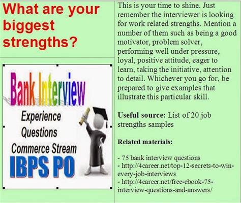 Bank Teller Questions And Answers Exles by Related Materials 75 Bank Questions Ebook