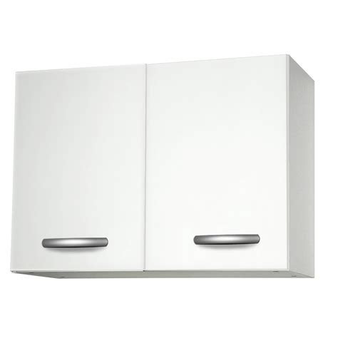 meuble haut cuisine leroy merlin meuble de cuisine haut 2 portes blanc h57 x l80 x p35 cm