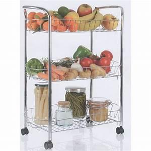 Resserre De Cuisine : resserre l gumes 3 niveaux id al pour vos fruits et l gumes ~ Teatrodelosmanantiales.com Idées de Décoration