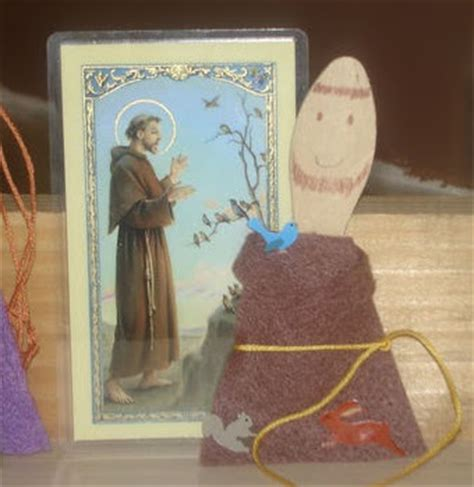 st francis of assisi crafts for catholic