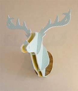 Tete De Cerf Carton : diy fun cardboard deer head comment cr er une t te de cerf en carton noces de coton ~ Teatrodelosmanantiales.com Idées de Décoration