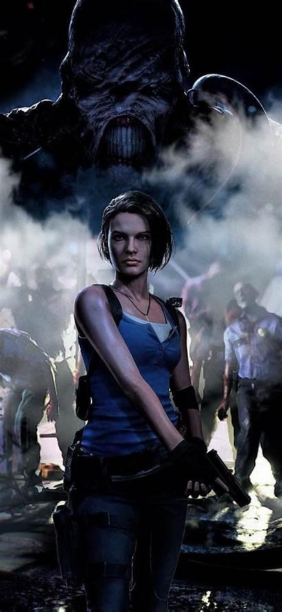 Resident Evil Jill Valentine 4k Iphone Remake