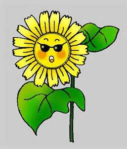 Cartoon Sunflower Clip Art