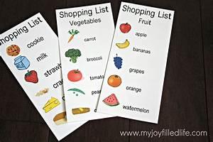 32 FREE Pretend Play Printables | Printable shopping list ...