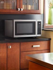 KitchenAid KCMS1655BSS 16 Cu Ft Countertop Microwave