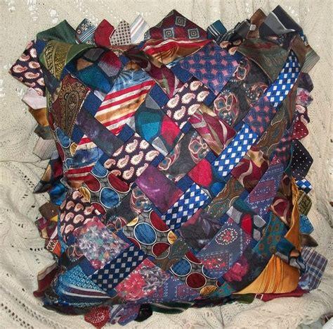 pillow    ties necktie quilt tie quilt tie