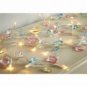 30 LED Luxury Jewel Lights - Pastel Lighting - B&M