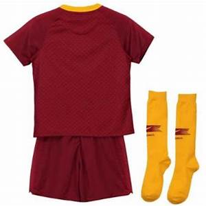 As Roma 2018 19 Soccer Jerseys As Roma Home Kids