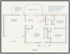 house blueprints free free home plan 1014 sq ft