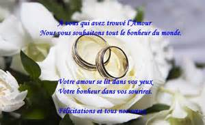 souhait mariage mariage felicitation