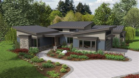 contemporary house plan caprica sqft beds baths